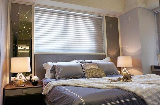 柔軟舒適的主臥室,百分百的慵懶放鬆