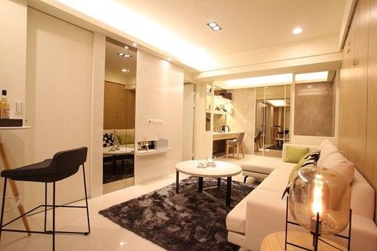 二樓的北歐風:時尚簡約的主張;淺色系,增加空間開闊性!