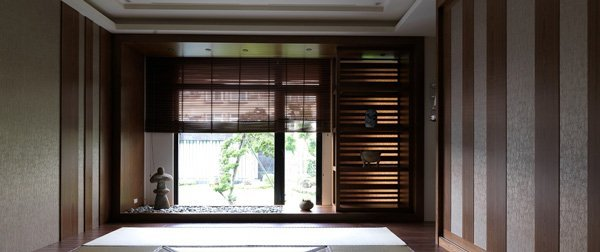 多功能榻榻米室,以日式氛圍的空間設計營造禪風的意象。