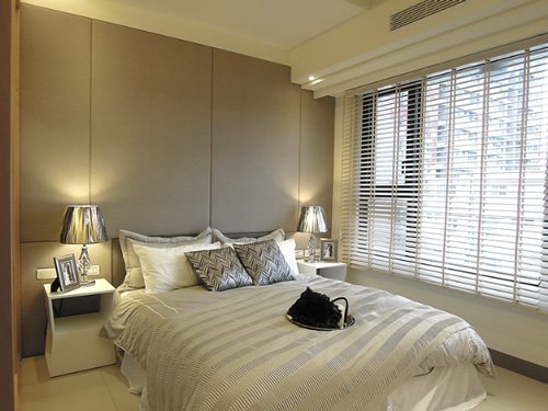 溫馨且舒服的主臥房,完全是讓人放鬆無壓的好去處