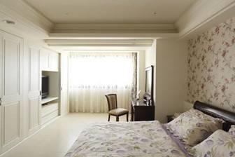 主臥室內設計-簡約的美式鄉村設計