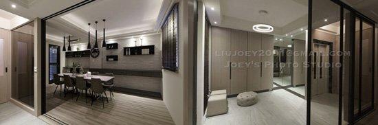一樓多功能室賦予空間多元利用的想像,要正式或輕鬆都可以!