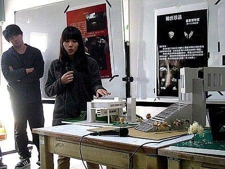 樹德科技大學室內設計系-采顥室內設計空間設計建築團隊建築模型教學