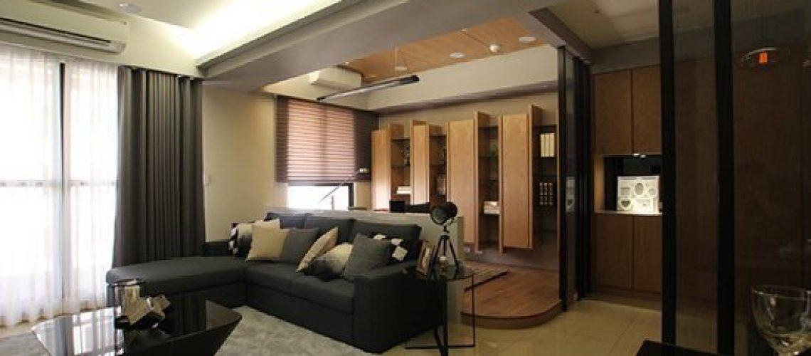 現代禪風~采顥建築室內設計體現家的原貌